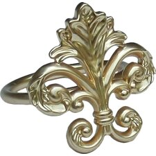 Fleur de Lis Elegant Napkin Ring (Set of 4)