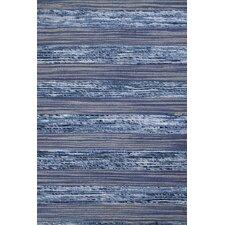 Sari Silk Blue/Gray Area Rug