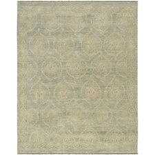 Ottoman Decorative Turkish Dynasty Design Hand-Knotted Wool Area Rug