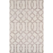 Venice Hand Tufted Transitional Beige Area Rug