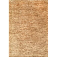 Modern Hand-Knotted Beige Area Rug (Set of 2)