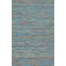 Sari Silk Blue Area Rug