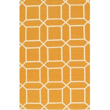 Sahara Orange/Ivory Area Rug