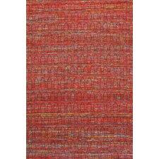 Sari Silk Dark Red Area Rug