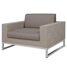 Quilt Sofa 1-Seater with Cushion