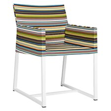 Stripe Dining Arm Chair