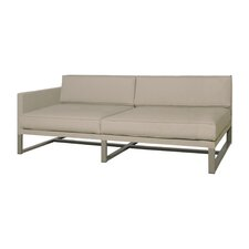 Mono Right Arm Comfort Seating Sectional Piece with Cushions