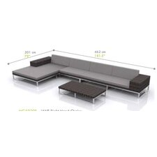 Jane 4 Piece Seating Group with Cushions