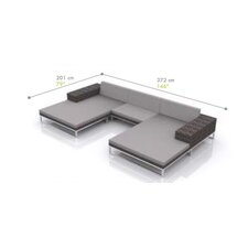 Jane Sectional with Cushions
