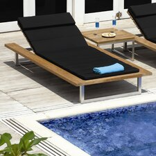 Oko Chaise Lounger with Cushion