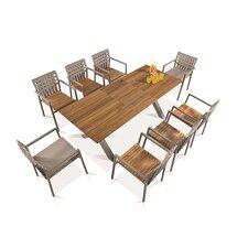 Ekka 9 Piece Dining Set
