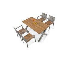 Ekka 5 Piece Dining Set