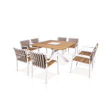 Ekka 9 Piece Dining Set