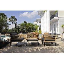 Zudu 4 Piece Deep Seating Group with Cushions