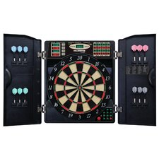 E-Bristle 3 Piece 1000 LED Electronic Dartboard Cabinet Set