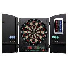 Cricketmaxx 3 Piece 1.0 Electronic Dartboard Cabinet Set