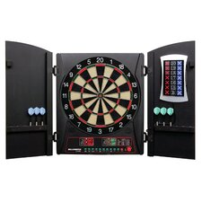 Cricketmaxx 3 Piece 3.0 Electronic Dartboard Cabinet Set