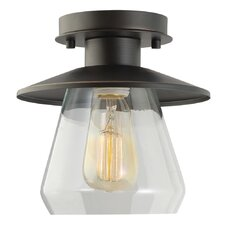 Barbara 1 Light Semi Flush Mount