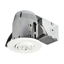"LED IC Rated Swivel Spotlight 3"" Recessed Kit"