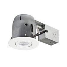 "LED IC Rated Swivel Spotlight 5"" Recessed Kit"