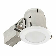 "LED IC Rated Shower Lens 4"" Recessed Kit"