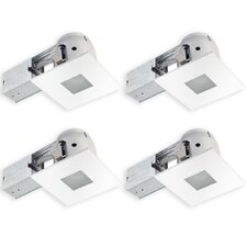 "Bathroom Square 4"" Recessed Lighting Kit"