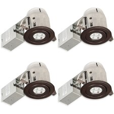 "Swivel Spotlight Round 3"" Recessed Lighting Kit"