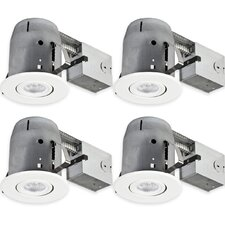 "Swivel Spotlight Round 5"" Recessed Lighting Kit"