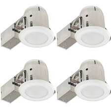 "Bathroom Round 4"" Recessed Lighting Kit"
