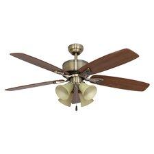 "52"" Northport 4 Light 5 Blade Ceiling Fan"