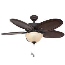 "52"" Habana Bowl Light 5 Blade Ceiling Fan"
