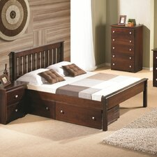 Contempo Full/Double Storage Platform Bed