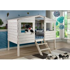 Tree House Twin Low Loft Bed