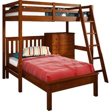 Donco Kids Twin L-Shaped Bunk Bed