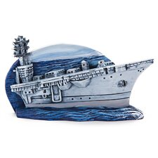 United States Navy Aircraft Carrier Ornament