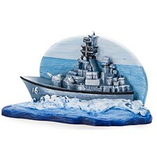 United States Navy Destroyer Ornament