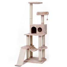 "42"" 4 Level Vertical Tower Cat Tree"