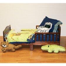 Jazzie Jungle Boy 4 Piece Toddler Bedding Set