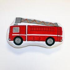 Teyo's Tires Fire Truck Decorative Throw Pillow