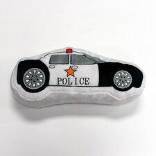 Teyo's Tires Police Car Decorative Throw Pillow