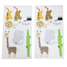Jazzie Jungle Boy Wall Decal (Set of 2)