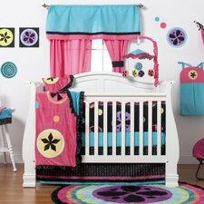 Magical Michayla 4 Piece Crib Bedding Set