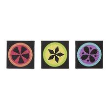3 Piece Magical Michayla Canvas Art Set