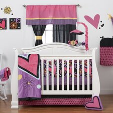 Sassy Shaylee 4 Piece Crib Bedding Set