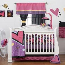 Sassy Shaylee 6 Piece Crib Bedding Set