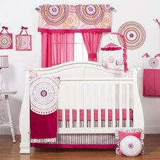 Sophia Lolita 6 Piece Crib Bedding Set