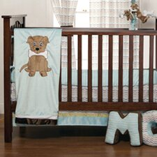 Puppy Pal Infant 3 Piece Crib Bedding Set