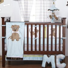 Puppy Pal Infant 4 Piece Crib Bedding Set