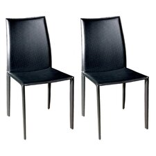 Baxton Studio Claudio Side Chair (Set of 2)