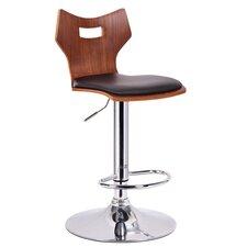 Baxton Studio Adjustable Height Swivel Bar Stool (Set of 2)